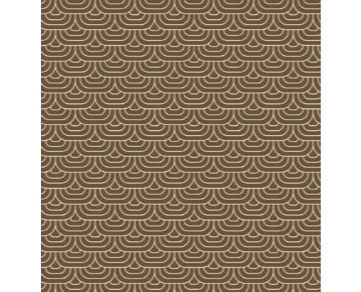 A7 Drop-In Envelope Liners (6 15/16 x 6 5/8) Brown Waves