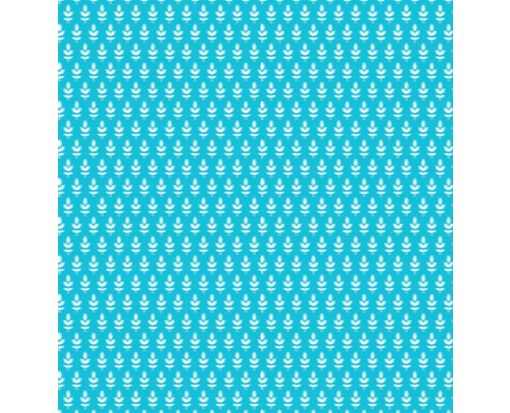 A7 Drop-In Envelope Liners (6 15/16 x 6 5/8) Blue Leaves