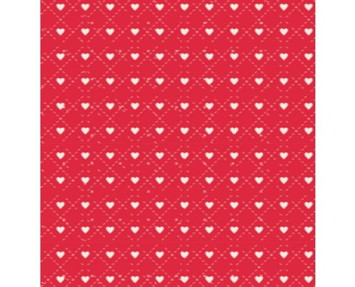 A7 Drop-In Envelope Liners (6 15/16 x 6 5/8) Hearts