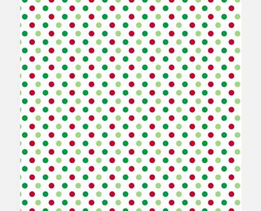 A7 Drop-In Envelope Liners (6 15/16 x 6 5/8) Holiday Polka Dots