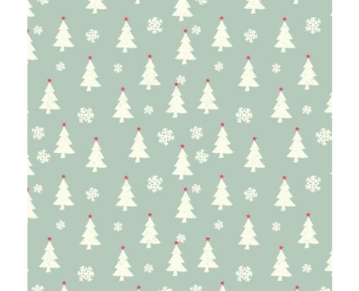 A7 Drop-In Envelope Liners (6 15/16 x 6 5/8) Holiday Trees