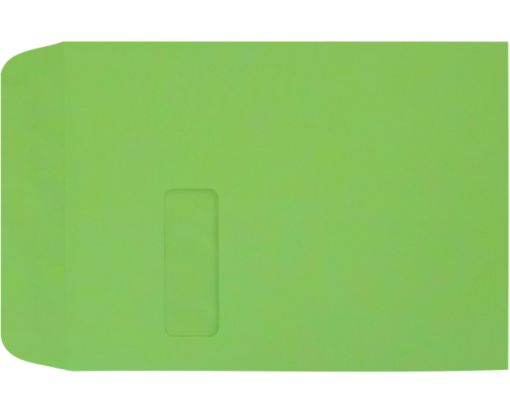 9 x 12 Open End Window Envelopes Limelight