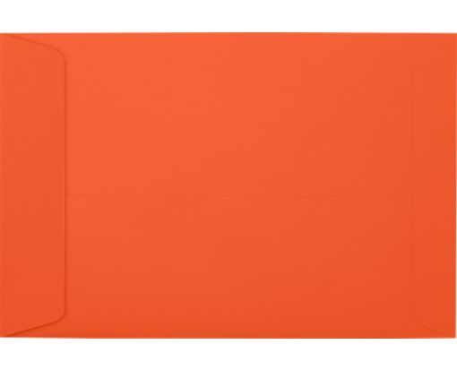 6 x 9 Open End Envelopes Tangerine