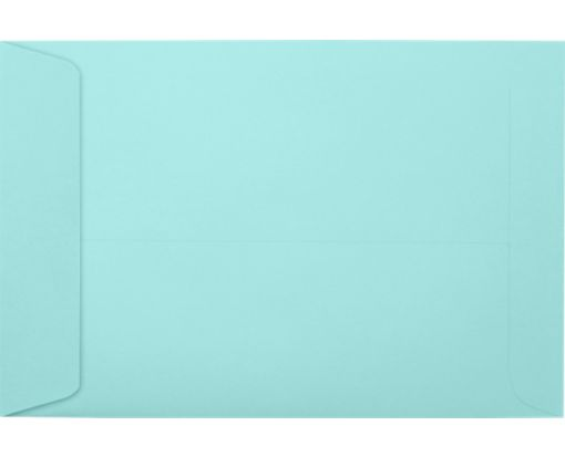 6 x 9 Open End Envelopes Seafoam
