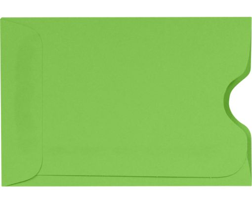 Credit Card Sleeve (2 3/8 x 3 1/2) Limelight