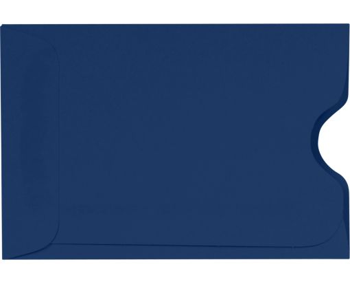 Credit Card Sleeve (2 3/8 x 3 1/2) Navy