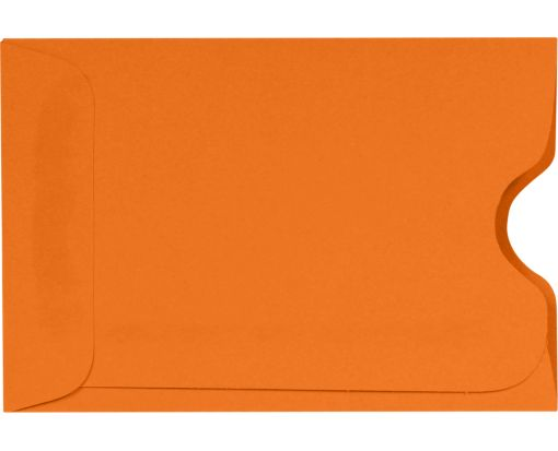 Credit Card Sleeve (2 3/8 x 3 1/2) Mandarin
