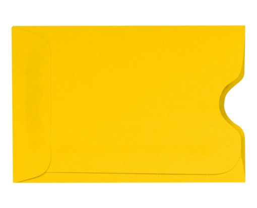 Credit Card Sleeve (2 3/8 x 3 1/2) Sunflower