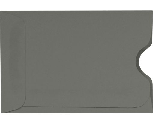Credit Card Sleeve (2 3/8 x 3 1/2) Smoke