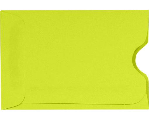 Credit Card Sleeve (2 3/8 x 3 1/2) Wasabi