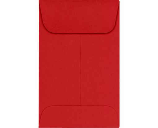 #1 Coin Envelopes (2 1/4 x 3 1/2) Ruby Red