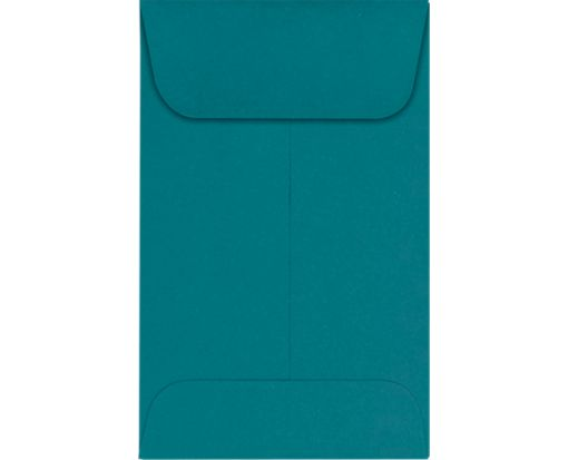 #1 Coin Envelopes (2 1/4 x 3 1/2) Teal