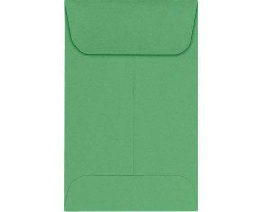 #1 Coin Envelopes (2 1/4 x 3 1/2) Holiday Green