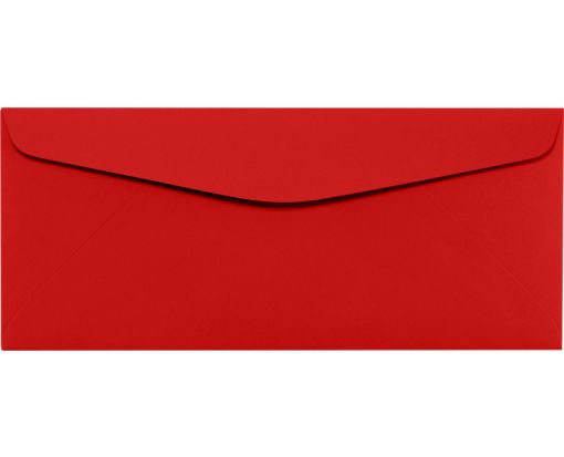 #10 Regular Envelopes (4 1/8 x 9 1/2) Ruby Red