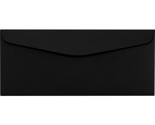 #10 Regular Envelopes (4 1/8 x 9 1/2) Midnight Black