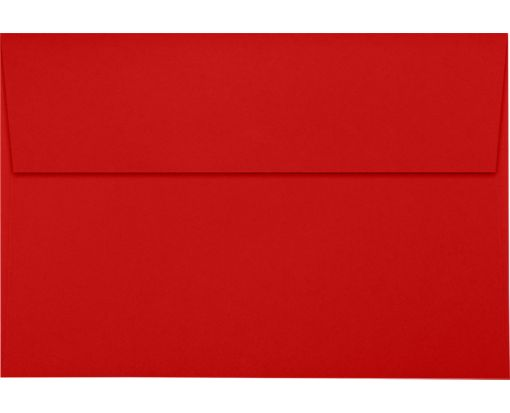 A10 Invitation Envelopes (6 x 9 1/2) Ruby Red