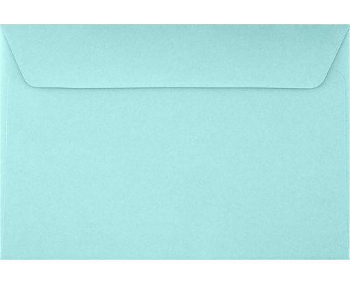 6 x 9 Booklet Envelopes Seafoam