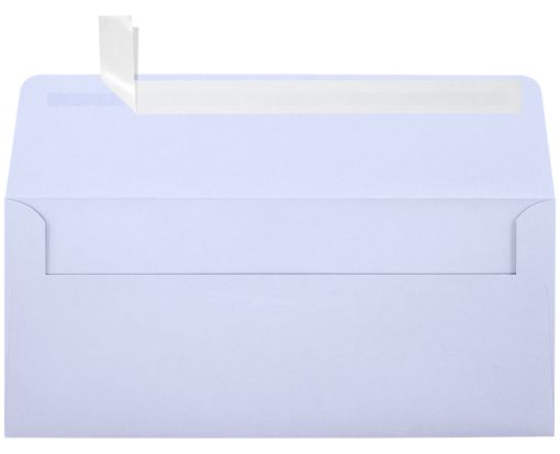 #10 Square Flap Invitation Envelopes (4 1/8 x 9 1/2) Lilac
