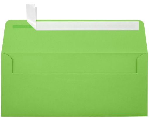 #10 Square Flap Invitation Envelopes (4 1/8 x 9 1/2) Limelight