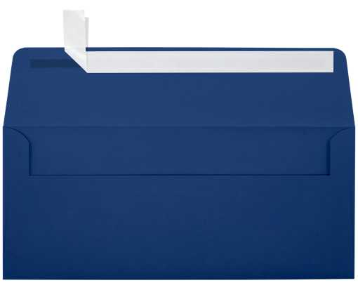 #10 Square Flap Invitation Envelopes (4 1/8 x 9 1/2) Navy