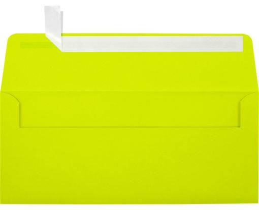 #10 Square Flap Envelopes (4 1/8 x 9 1/2) Wasabi