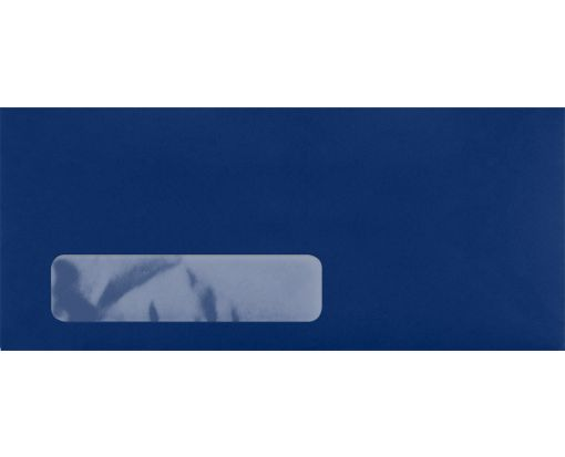 #10 Window Envelopes (4 1/8 x 9 1/2) Navy