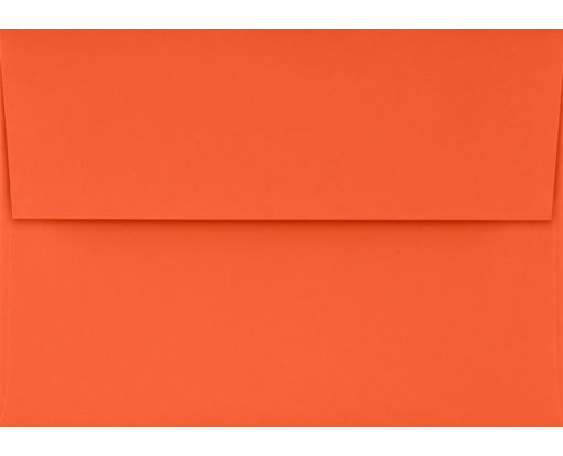 A1 Invitation Envelopes (3 5/8 x 5 1/8) Tangerine