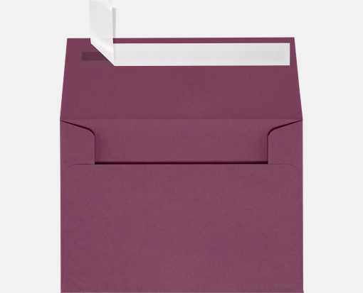 A2 Invitation Envelopes (4 3/8 x 5 3/4) Vintage Plum