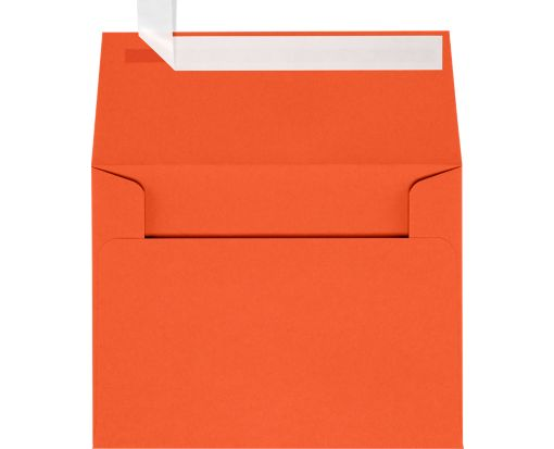 A2 Invitation Envelopes (4 3/8 x 5 3/4) Tangerine
