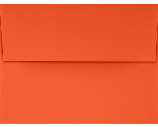 A4 Invitation Envelopes (4 1/4 x 6 1/4) Tangerine