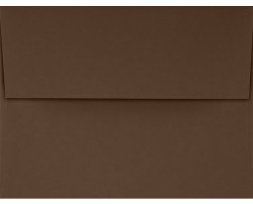 A4 Invitation Envelopes (4 1/4 x 6 1/4) Chocolate