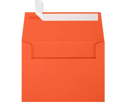 A6 Invitation Envelopes (4 3/4 x 6 1/2) Tangerine
