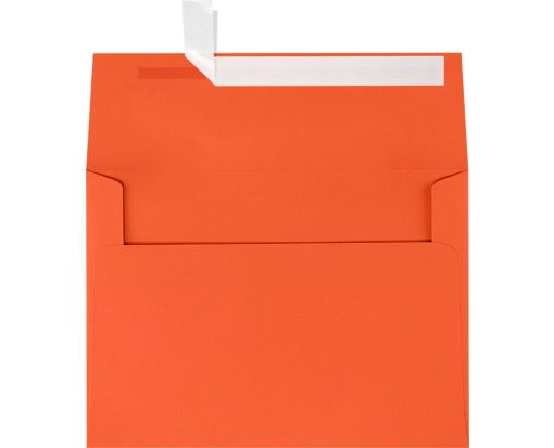 A7 Invitation Envelopes (5 1/4 x 7 1/4) Tangerine
