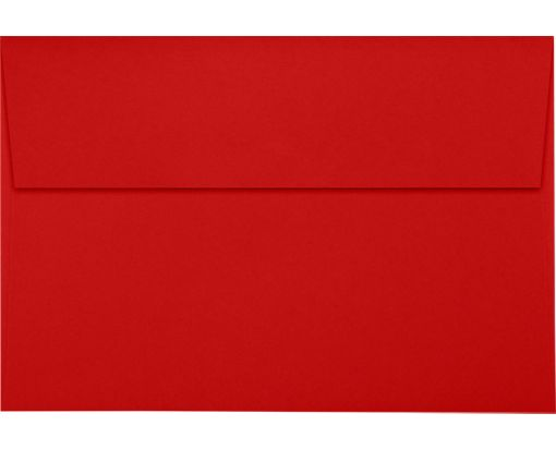 A8 Invitation Envelopes (5 1/2 x 8 1/8) Ruby Red