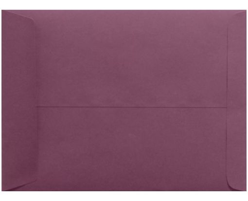 9 x 12 Open End Envelopes Vintage Plum