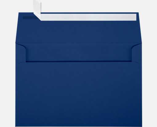A9 Invitation Envelopes (5 3/4 x 8 3/4) Navy