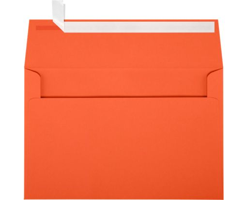 A9 Invitation Envelopes (5 3/4 x 8 3/4) Tangerine