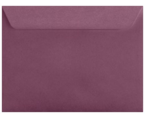 9 x 12 Booklet Envelopes Vintage Plum