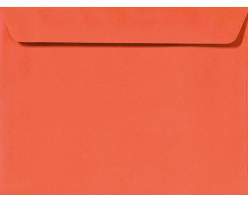 9 x 12 Booklet Envelopes Tangerine