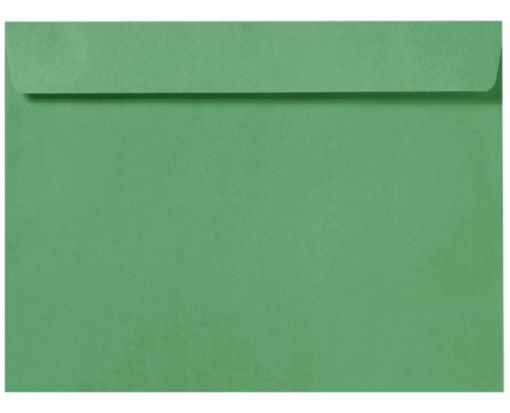 9 x 12 Booklet Envelopes Holiday Green
