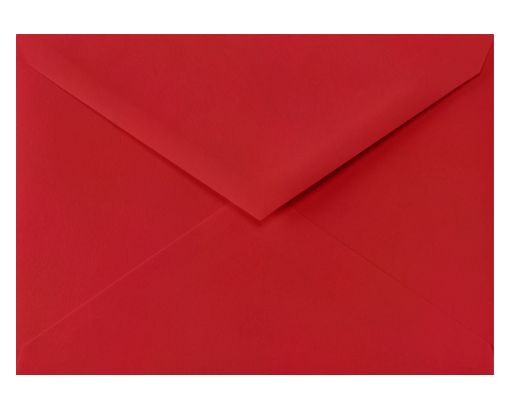 4 BAR Envelopes (3 5/8 x 5 1/8) Ruby Red