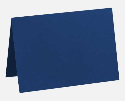 A7 Folded Card (5 1/8 x 7) Navy