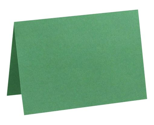 A7 Folded Card (5 1/8 x 7) Holiday Green