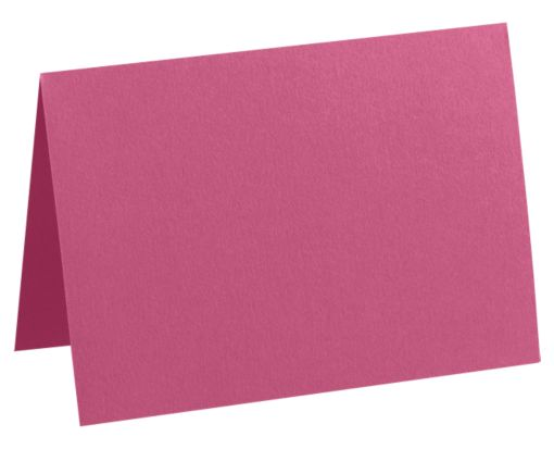 #17 Mini Folded Card (2 9/16 x 3 9/16) Magenta
