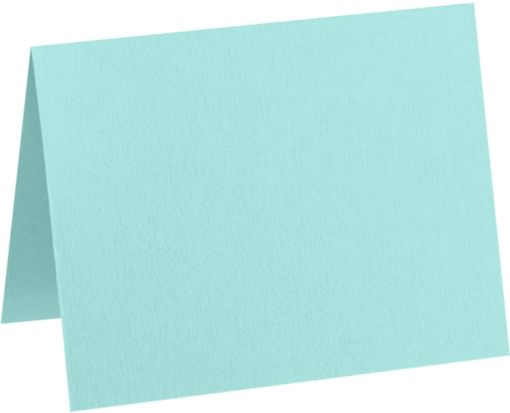 #17 Mini Folded Card (2 9/16 x 3 9/16) Seafoam