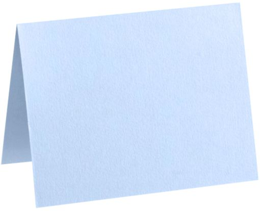 #17 Mini Folded Card (2 9/16 x 3 9/16) Baby Blue