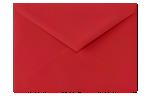 5 1/2 BAR Envelopes Ruby Red