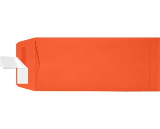 #10 Open End Envelopes (4 1/8 x 9 1/2) Tangerine