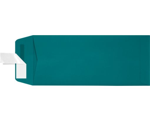 #10 Open End Envelopes (4 1/8 x 9 1/2) Teal