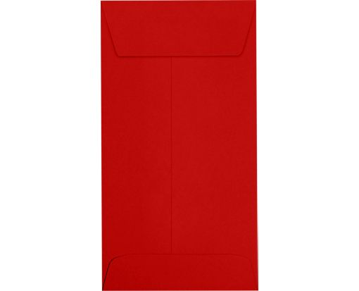 #7 Coin Envelopes (3 1/2 x 6 1/2) Ruby Red